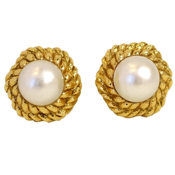David Webb Mobe Pearl Earrings