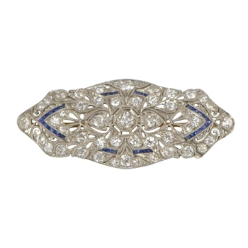 1920's Fillagree Brooch