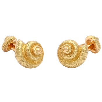 Shell Cufflinks by Tiffany & Co